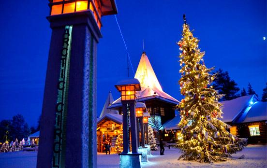 Viajar en Navidad, Finlandia