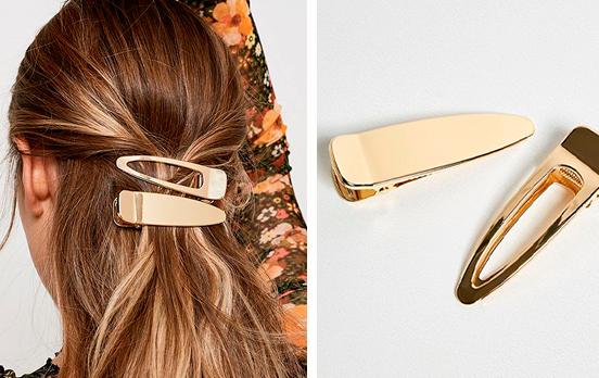clips dorados maxi urban outfitters
