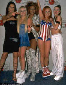 grupo de las spice girls