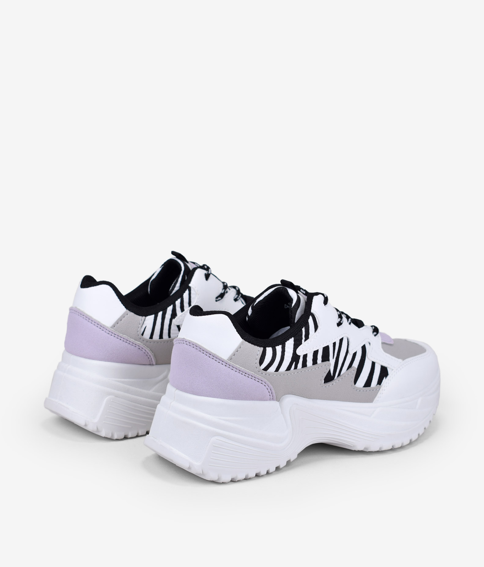 zapatillas plataforma print animal