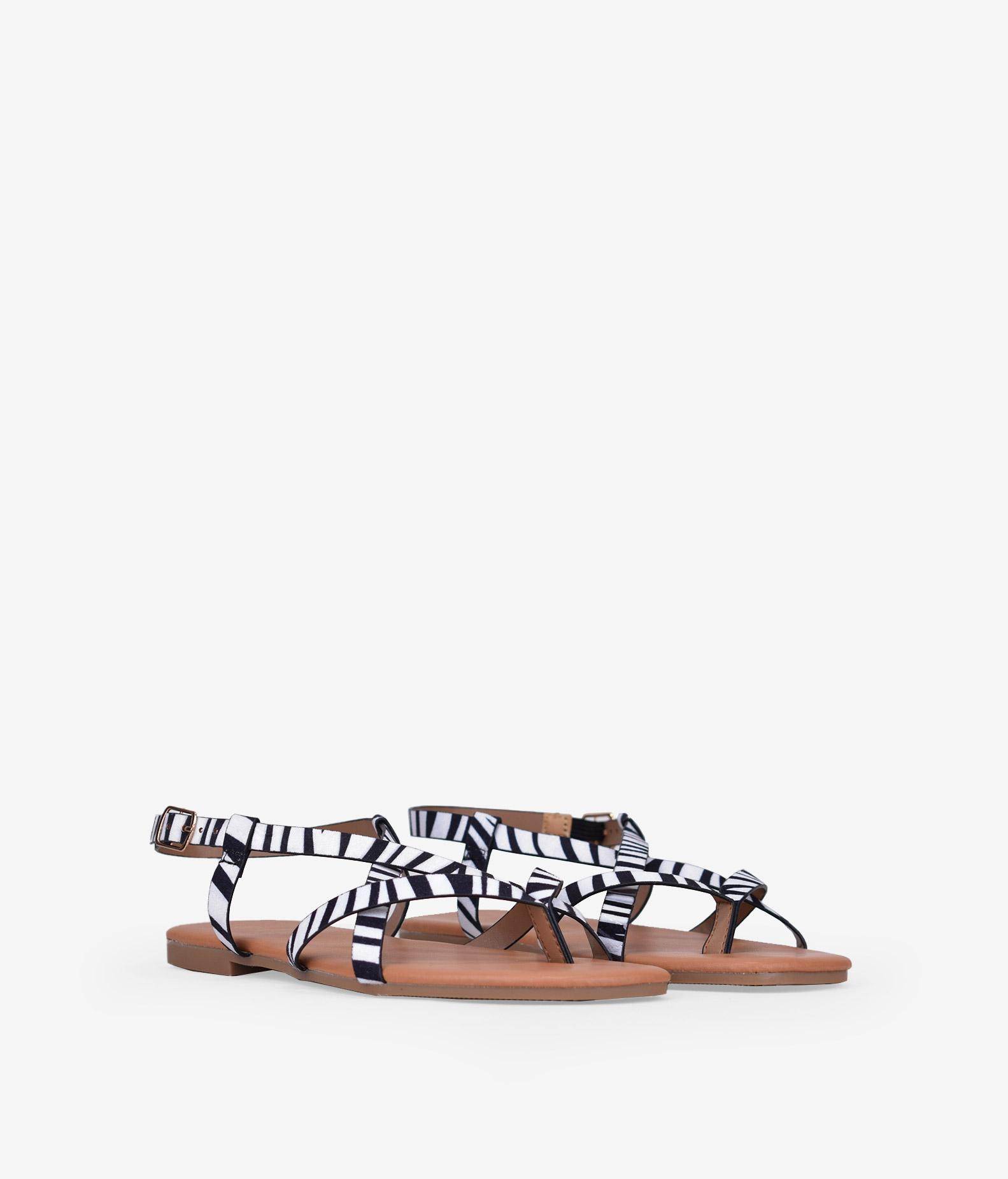 sandalias-planas-cebra